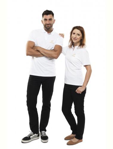 Harmonelo polo T-shirt women L